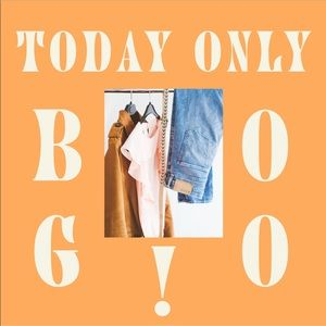 BOGO Closet Sale! ONE DAY ONLY!